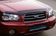 Subaru Forester 2002-2005 - Дефлектор капота, темный, EGR фото, цена