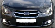 Subaru Legacy 2004-2009 - Дефлектор капота, темный, с надписью. (EGR) фото, цена