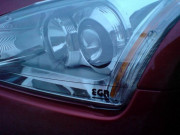 Toyota Avensis 2003-2006 - Защита передних фар, прозрачная, EGR  фото, цена
