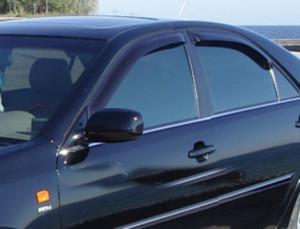 Toyota Camry 2001-2005 - Дефлекторы окон, комплект 4 штуки, темные. (EGR) фото, цена