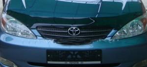Toyota Camry 2004-2005 - Дефлектор капота, темный. EGR фото, цена