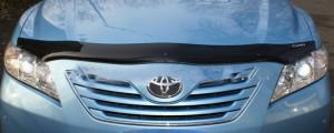 Toyota Camry 2006-2011 - Дефлектор капота, темный (EGR) фото, цена