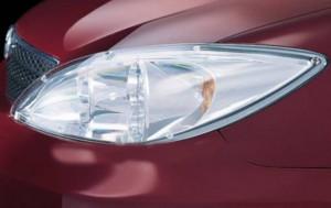 Toyota Camry 2003-2005 - Защита передних фар, прозрачная. (EGR) фото, цена