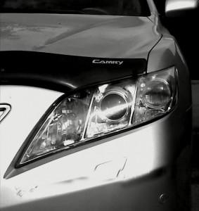 Toyota Camry 2006-2009 - Защита передних фар, прозрачная. (EGR)  фото, цена