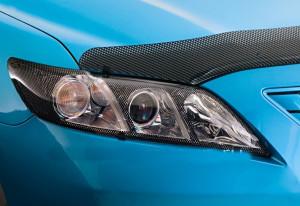 Toyota Camry 2006-2009 - Защита передних фар, карбон. (EGR) фото, цена