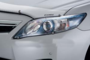 Toyota Camry 2010-2011 - Защита передних фар, прозрачная. (EGR)  фото, цена