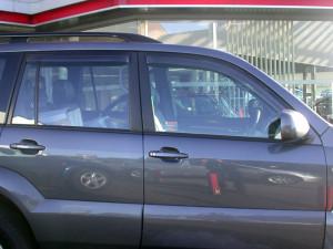 Toyota Highlander 2001-2007 - Дефлекторы окон, комплект 4 штуки, темные, EGR фото, цена