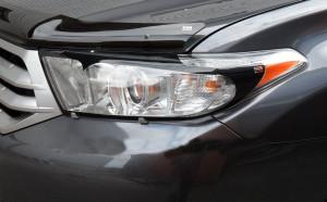 Toyota Highlander 2011-2013 - Защита передних фар, прозрачная, EGR  фото, цена