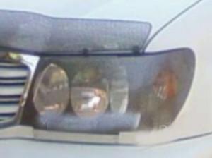 Toyota Land Cruiser 1998-2007 - Защита передних фар, карбон. (EGR) фото, цена