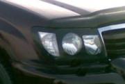 Toyota Land Cruiser 1998-2007 - Защита передних фар, темная. (EGR)  фото, цена