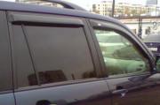 Toyota Land Cruiser Prado 2003-2008 - Дефлекторы окон, комплект 4 штуки, темные. (EGR) фото, цена