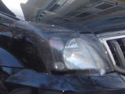 Toyota Land Cruiser Prado 2002-2008 - Защита передних фар, карбон, EGR фото, цена