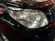 Toyota Land Cruiser Prado 2010-2014 - Защита передних фар, прозрачная, EGR  фото, цена
