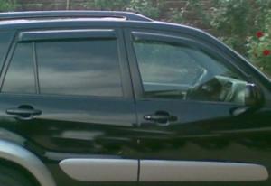 Toyota Rav 4 2000-2005 - Дефлекторы окон, комплект 4 штуки, темные, EGR фото, цена
