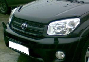 Toyota Rav 4 2000-2004 - Дефлектор капота, темный, EGR фото, цена