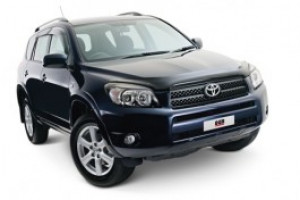 Toyota Rav 4 2006-2012 - Дефлекторы окон, комплект 4 штуки, дымчатые, EGR фото, цена