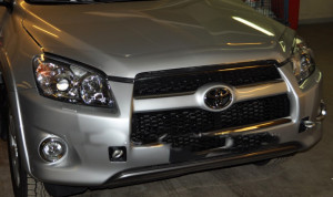 Toyota Rav 4 2006-2012 - Дефлектор капота, прозрачный, EGR фото, цена