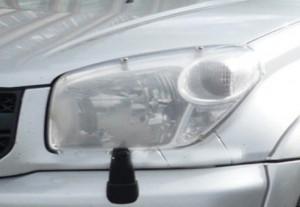 Toyota Rav 4 2004-2005 - Защита передних фар, прозрачная, EGR  фото, цена