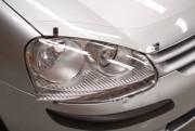 Volkswagen Golf 2004-2008 - Защита передних фар, прозрачная, EGR  фото, цена