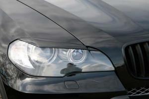 BMW X5 2007-2012 - (E70) Реснички на фары. фото, цена