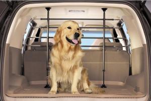 Перегородка в авто для собаки
