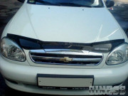 Chevrolet Lanos 2005-2012 - Дефлектор капота (мухобойка), VIP Tuning фото, цена