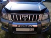 Toyota Land Cruiser Prado 2003-2009 - Дефлектор капота (мухобойка). (VIP Tuning) фото, цена
