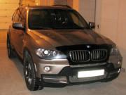 BMW X5 2007-2013 - Дефлектор капота (мухобойка) темный. (FORMFIT) фото, цена