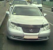 Lexus ES 2006-2012 - Дефлектор капота, (мухобойка) темный. BENEVENTO фото, цена