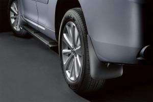 Toyota Highlander 2006-2010 - Брызговики, черные, к-т 4шт. (Toyota)  фото, цена