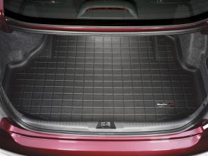 Acura TL 2004-2008 - Коврик резиновый в багажник, черный. (WeatherTech) фото, цена