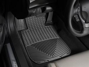Acura TL 2009-2010 - Коврики резиновые, передние, черные. (WeatherTech) фото, цена