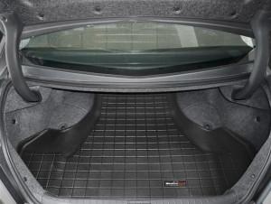 Acura TL 2009-2014 - Коврик резиновый в багажник, черный. (WeatherTech) фото, цена