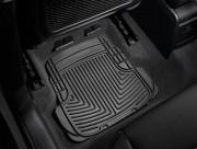 Audi A3 2006-2013 - Коврики резиновые, задние, черные. (WeatherTech) фото, цена