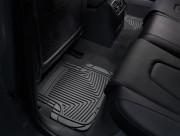 Audi A4 2004-2008 - Коврики резиновые, задние, черные. (WeatherTech) фото, цена