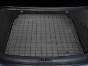 Audi A4 2009-2013 - (Sedan) Коврик резиновый в багажник, черный. (WeatherTech) фото, цена