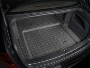 Audi A8 2004-2010 - Коврик резиновый в багажник, черный. (WeatherTech) фото, цена
