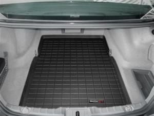 BMW 7 2009-2015 - Коврик резиновый в багажник, черный. (WeatherTech) фото, цена