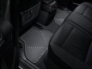 BMW X5 2007-2013 - Коврики резиновые, задние, черные. (WeatherTech) фото, цена