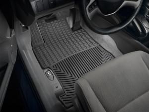 Honda Civic 2006-2011 - Коврики резиновые, передние. (WeatherTech) фото, цена