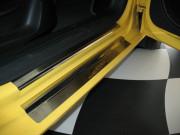 Seat Leon 2006-2011 - Порожки внутренние к-т 8 шт. (НатаНико) фото, цена