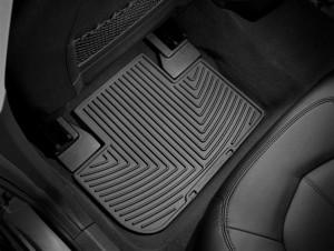 Cadillac CTS 2008-2013 - Коврики резиновые, задние, черные. (WeatherTech) фото, цена