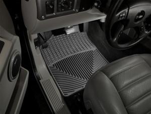 Hummer H2 2002-2009 - Коврики резиновые, передние,черные. (WeatherTech) фото, цена
