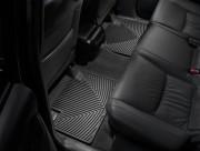 Lexus GX 2003-2009 - Коврики резиновые, задние, черные. (WeatherTech) фото, цена