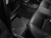 Lexus IS 2006-2013 - Коврики резиновые, задние, черные. (WeatherTech) фото, цена