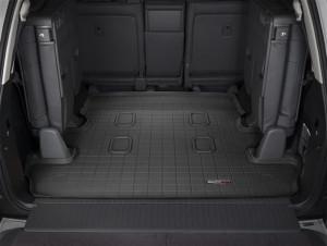 Lexus LX 2008-2019 - Коврик резиновый в багажник, черный. (WeatherTech) 7 мест фото, цена