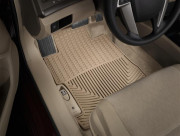 Lincoln Navigator 2011-2012 - Коврики резиновые, передние. (WeatherTech) фото, цена