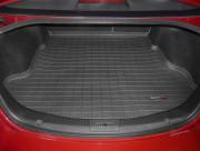 Mazda 6 2009-2012 - Коврик резиновый в багажник, черный. (WeatherTech) фото, цена