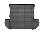 Mitsubishi Outlander 2007-2012 - Коврик резиновый в багажник, черный. (WeatherTech) фото, цена
