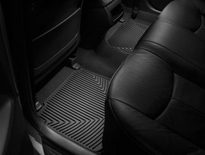 Toyota Camry 2006-2011 - Коврики резиновые, задние, черные. (WeatherTech) фото, цена